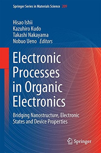 Electronic Processes in Organic Electronics: Bridging Nanostructure, Electronic States and Device Properties (Springer S