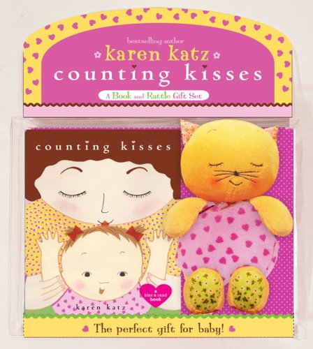 Counting Kisses: A Book and Rattle Gift Set