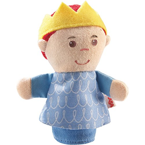 HABA Finger Puppet Mini Prince for Ages 18 Month and Up