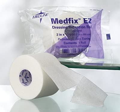"Medline MSC4102H MedFix EZ Wound Tapes, 2""X11YD"