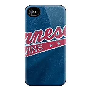 Iphone 4/4s Case Cover - Slim Fit Tpu Protector Shock Absorbent Case (cooperstown)