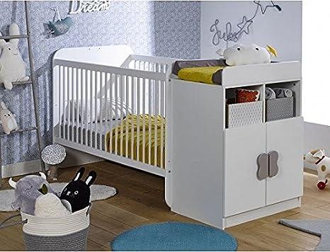 Alfred & Compagnie Mathis - Cuna de bebé evolutiva (70 x 140 ...