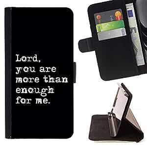 Momo Phone Case / Flip Funda de Cuero Case Cover - BIBLIA Se?or; - Samsung Galaxy Note 5 5th N9200