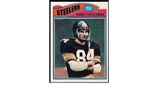 75b609972cb Amazon.com: Football NFL 1977 Topps #159 Randy Grossman Steelers:  Collectibles & Fine Art
