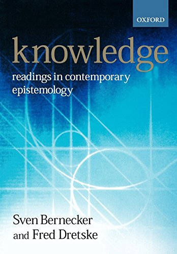 Knowledge: Readings in Contemporary Epistemology