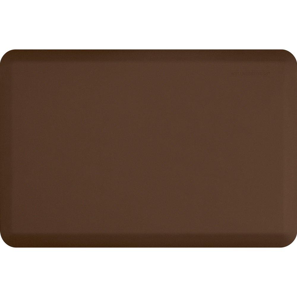 WellnessMats Original Anti-Fatigue Kitchen Mat, 36 Inch by 24 Inch, Brown