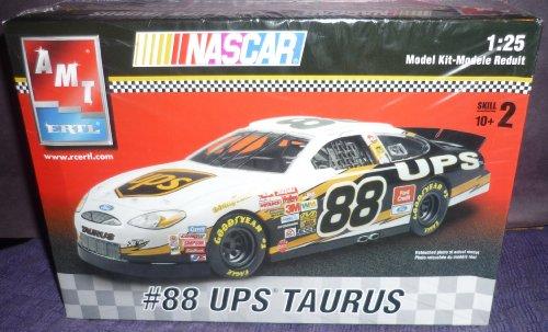 AMT ERTL Nascar #88 UPS Taurus ... 1:25 Scale ... Car Model Kit (25 Nascar Kit)