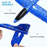 "4 Pack Foam Glider Airplanes - 12.4"" Airplane"