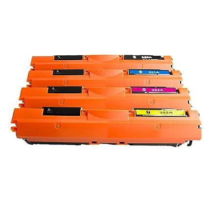 Para HP CF350A CF351A CF352A CF353A Cartucho de tóner ...