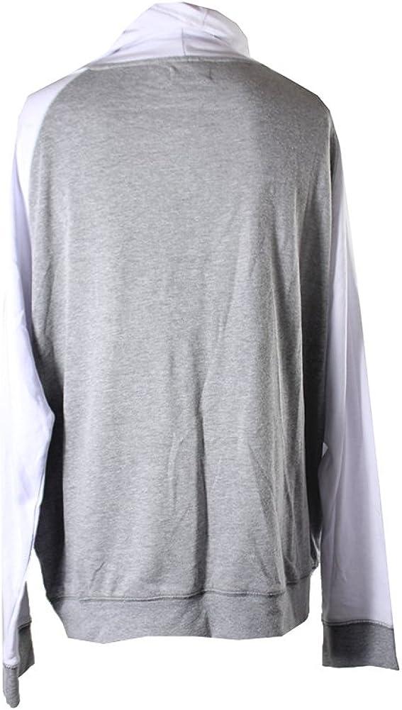 Univibe Mens Funnel Neck Fleece Shirt