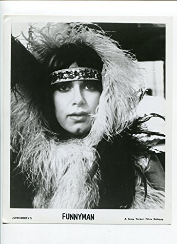 Motion picture PHOTO: Funnyman-Carole Androsky-8x10-B&W-Still