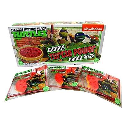 TMNT Teenage Mutant Ninja Turtle Teatro Caja pizza 2.54oz ...