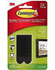 Command 17201BLK Medium Picture Hanging Strips