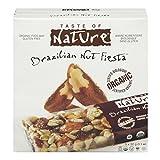 Taste of Nature Organic Family Pack-Brazilian Nut Fiesta, 5/32G
