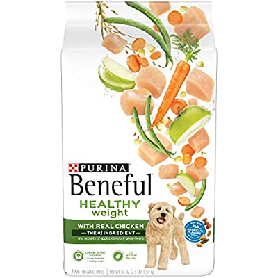 Purina Beneful Healthy Weight Dry Dog Food, Healthy Weight With Real Chicken - 3.5 lb. Bag