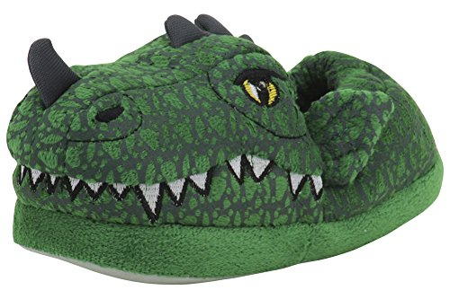 Stride Rite Boys' Light-Up Max Dragon Slippers