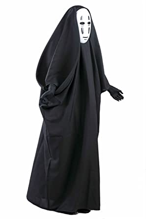 Amazon Com Danyer Fancy No Face Spirited Away Cosplay Costume With