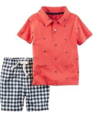Carter's Baby Boys' Polo-Shorts