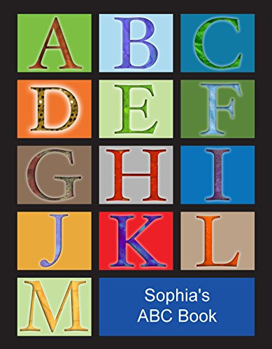 Personalized Paperback Children's ABC Book with Customized Kid's Name, Hair Color, Gender, and More