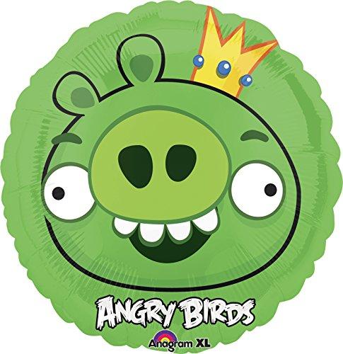 Anagram International Angry Birds King Pig Foil Balloon