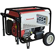 Honeywell 6152 7,500 Watt 420cc OHV Portable Gas Powered Generator with Electric Start (CARB Compliant) (Discontinued...