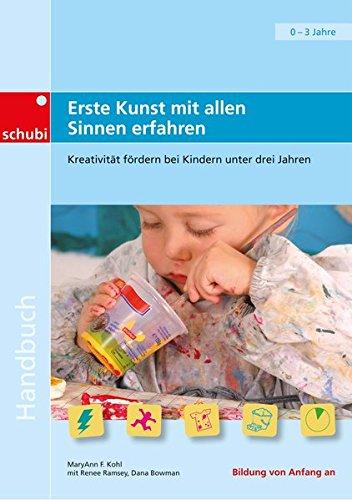 Handbücher für die frühkindliche Bildung: Erste Kunst mit allen Sinnen erfahren: Kreativität fördern bei Kindern unter drei Jahren