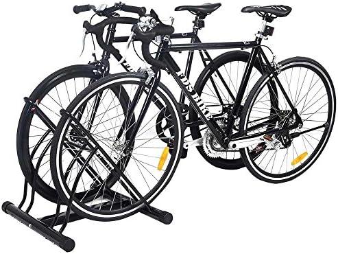 BAKAJI - Soporte para Bicicletas de 2 plazas, Multiusos, de Suelo ...