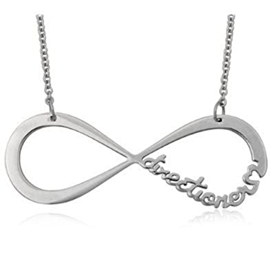 2d6d5ce977 Amazon.com: Yongyong One Direction Infinity Necklace Directioner: Jewelry