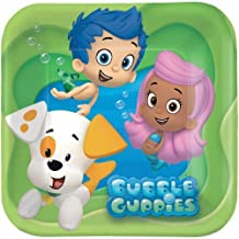Bubble Guppies Dessert Plates - Birthday and Theme Party Supplies - 8 per Pack by SmileMakers Inc