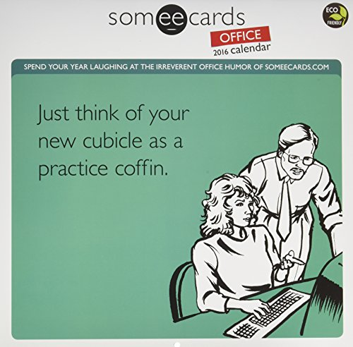 Someecards Office Wall Calendar by TF Publishing 2016