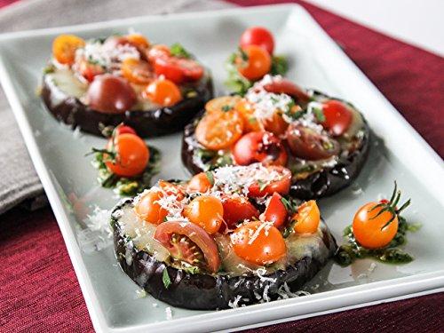 Eggplant: Italian, Chinese, and Japanese (Pesto Parmesan)