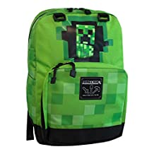 Minecraft Kids Creeper Backpack