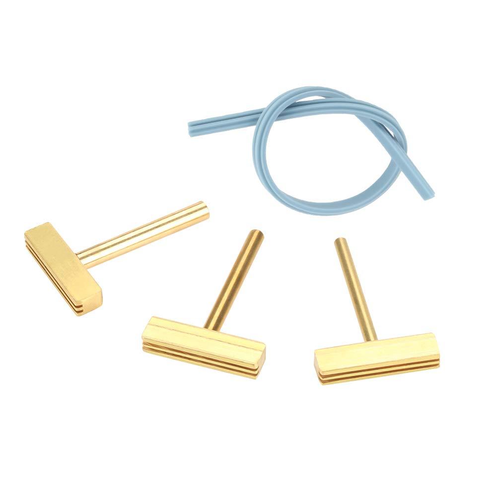 Puntas de soldador, 3 piezas/set 30W/40W/60W T Puntas de soldador con prensa en caliente para pantalla LCD Reparación de cables flexibles Soldaduras