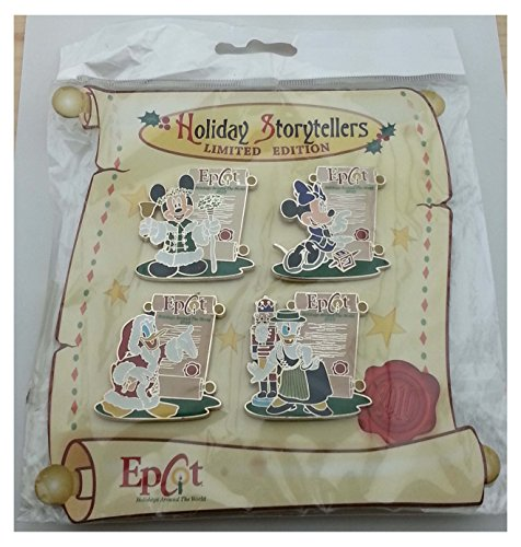- Disney Pin - Epcot Holidays Around the World 2010 - Holiday Storytellers - LE 80734