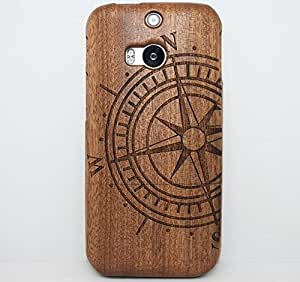 htc one wood cases and covers,htc one att phone cases,htc one cell phone cases,htc one m8 phone cases,Ezydigital Carryberry Natural 100% Handmade Handcrafted hard wood wooden Bamboo bumper Case Cover shell for HTC ONE M8
