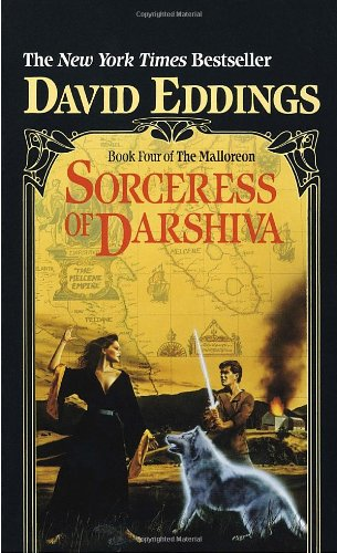 book cover of The Sorceress of Darshiva