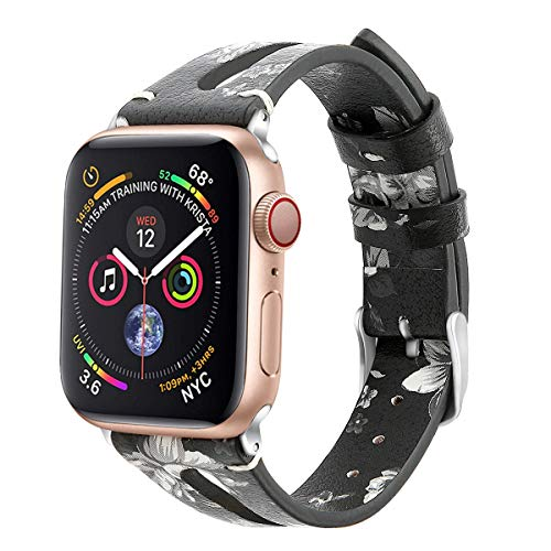 Series Dxm (42mm 44mm Leather Band Strap Compatible with Apple Watch Band Series 4 Series 3 Series 2 Series 1 Sport)