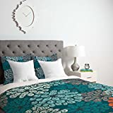 Deny Designs Valentina Ramos Ruby The Elephant Duvet Cover with pillow Sham, Twin/Twin X-Large