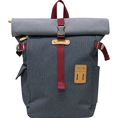 Harvest Label Connect Rolltop Backpack Plus (Grey) by Harvest Label