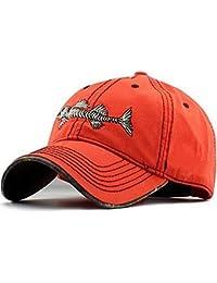 bedb45e10ed Kids Fishing Hat Ball Cap - Baseball Cap Fishing Cotton Hat - Mens  Adjustable Cap