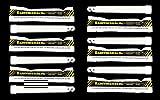 12 Industrial Strength Emergency SafetyStick Glow Sticks -...