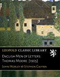 img - for English Men of Letters. Thomas Moore. [1905] book / textbook / text book
