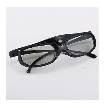 Proyector de Gafas 3D dedicado película casera Video HD Gafas de ...