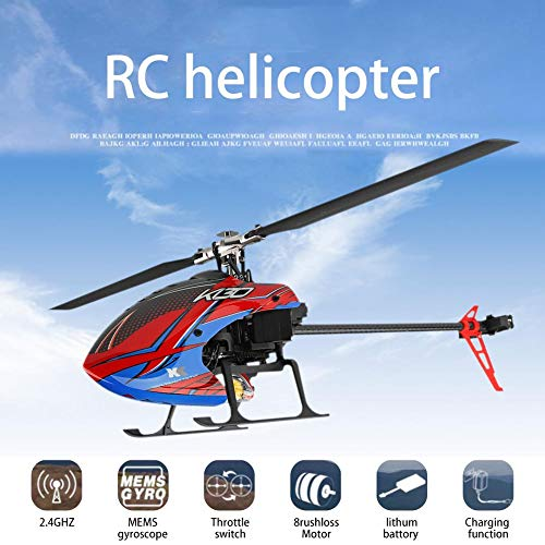 Blueyouth Aircraft Model - for Weili K130 RC Helicopter Six - Way Single - Blade Without Aileron Aircraft Model for Weili K130 RC by Blueyouth (Image #7)