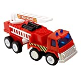 Fire Engine Toy (8) Party Supplies by BirthdayExpress