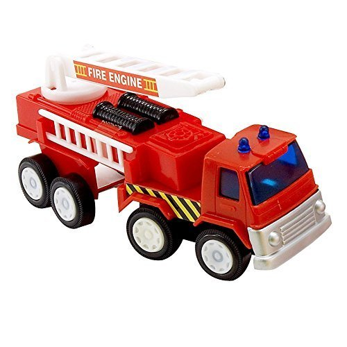 Fire Engine Toy (8) Party Supplies by BirthdayExpress by BirthdayExpress