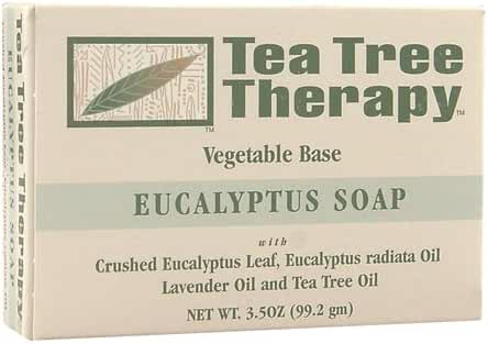 Tea Tree Therapy Eucalyptus Soap Vegetable Base, 3.5 Ounce