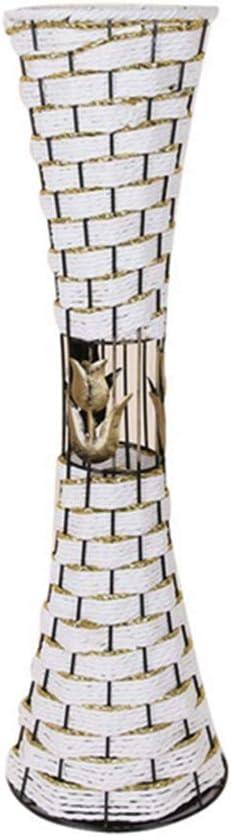 Rattan Floor Standing Flower Vase Handmade for Home Decor Gift Interior Perfect for Living Rooms