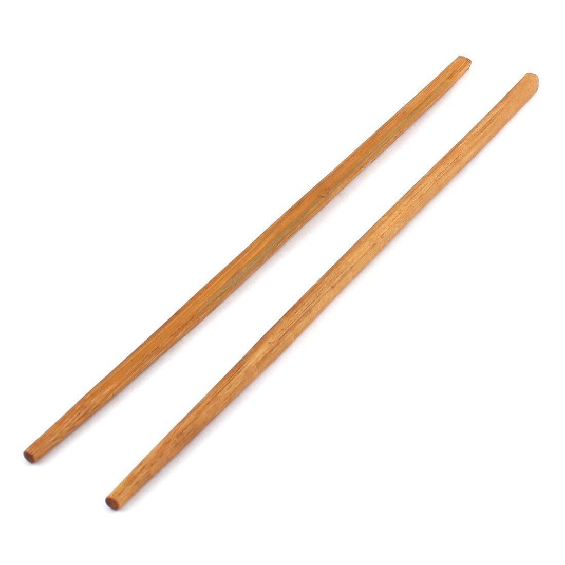 Chinesische Bambus Stäbchen Reishunger 1 Paar edle Essstäbchen 24cm Dunkel