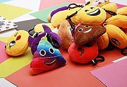 Emoji Mini Plush Pillows for Party Decorations ,2\